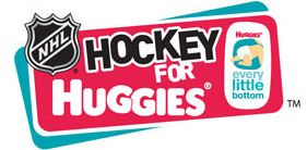 The NHL and Huggies partnered to get diapers to families in need